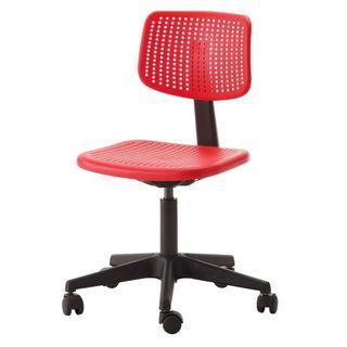 IKEA Alrik swivel chair (red) - $15