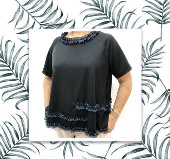 Black Women T-shirt (polyester) Brand New with tag