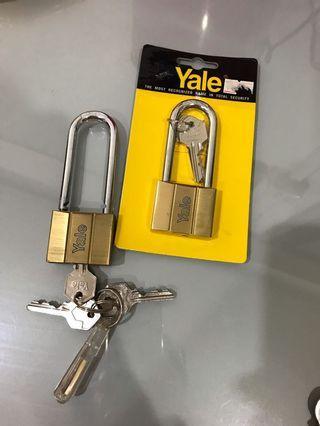 2 Yale Padlocks