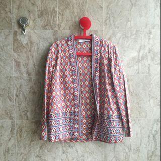 🆕 Mango Suit Batik Cardigan #JuneToGo