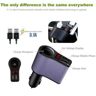 Car USB Charger / Multi Charger / Charger socket