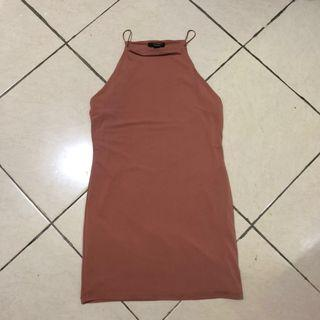 Mididress Nude Forever 21
