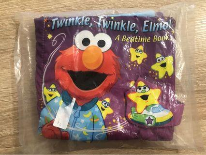 Baby Cloth Book by Elmo