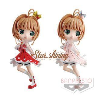 日版Q Posket百變小櫻公仔模型 Cardcaptor Sakura figure hot toys 木之本櫻