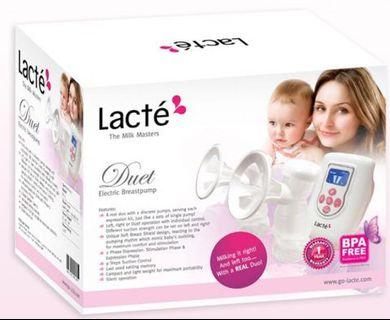 Lacte duet electric auto breast pump dual breastpump