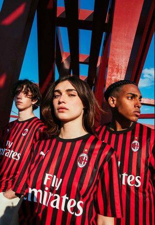 2019/20 AC Milan New Home Jersey