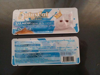 Aatas Cat Salmon Creme Treat