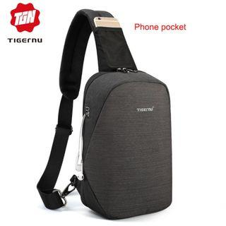 Brand New Chest Bag Anti-theft Casual Crossbody Bag Travel Men's Sling Bag for Phone & Wallet