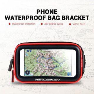 HEROBIKER Waterproof Phone Holder / Phone Holder for Motorcycle