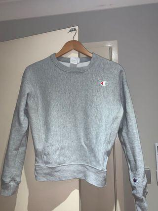 Champion Reverse Weave Grey Jumper