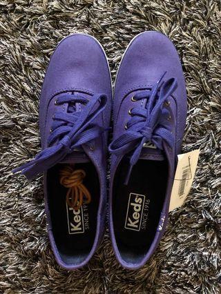 Repriced! Brand New Original Keds Royal Blue Sneakers (size 6)