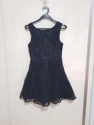 BNWT Shopsassydream Black Lace Dress