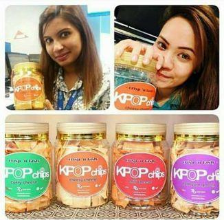 Kerepek Kulit Popia - Kpop Chips Assorted Flavor