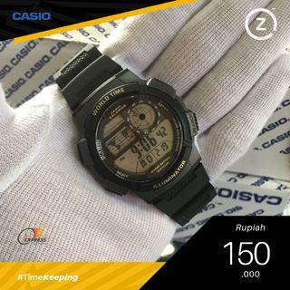 Jam Tangan Casio AE-1000 W Black