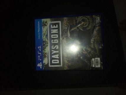 🚚 Ps4 new game days gone