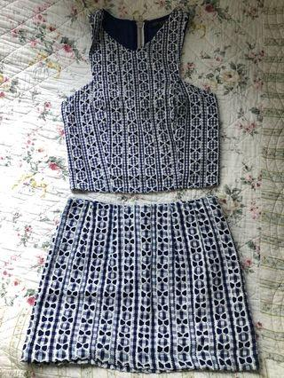 Topshop Two piece set