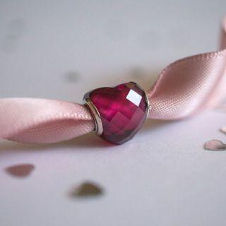 Bnis Pandora Fuchsia Shape of Love Charm