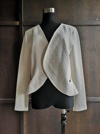 NICHII Ladies Stylist White Jacket