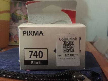 Canon  Pixma 740-Black ink printer