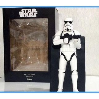 (清貨) 日本直送 星球大戰 Star Wars Disney 迪士尼 白兵 SunArt Stormtrooper 多用途 擺設 裝飾 電話座 phone stand #PT-SAN25333