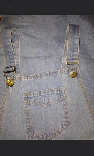 Overall Jeans Kodok #maudandan