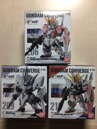 散賣 FW Gundam Converge #15