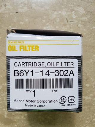 Mazda 3 skyactive original engine oil filter