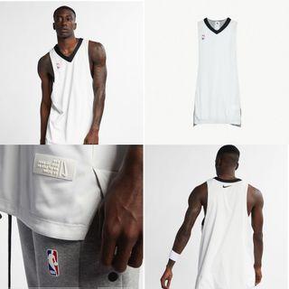 Nike x fear of god fog reversible NBA jersey