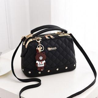 Doctor Bag Stylish Import (BLACK)