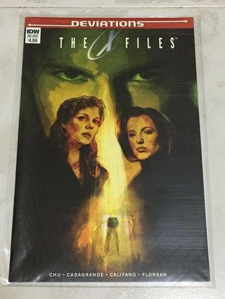 🚚 (IDW) Deviations: The X-Files (One-Shot)