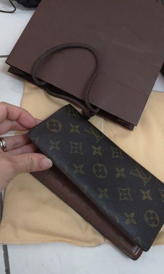 Lv long wallet monogram women wallet(ori)