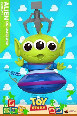 Hot Toys Toy Story 4 Alien on Spaceship Cosbaby MISB