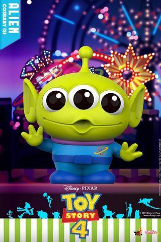 Hot Toys Toy Story 4 Alien Cosbaby MISB