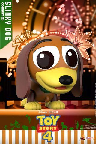 Hot Toys Toy Story 4 Slinky Dog Cosbaby MISB