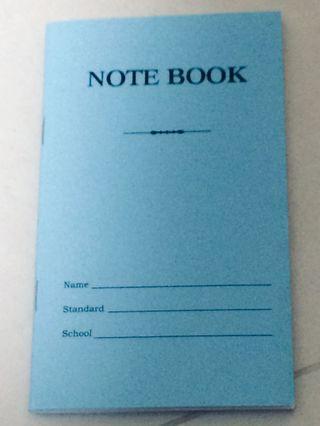 🚚 Blue notebook