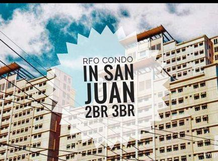MOVE-IN AGAD 111K DP - WITH FREE APPLIANCES AND 5% DISCOUNT RENT TO OWN CONDO AT SAN JUAN LITTLE  BAGUIO TERRACES NEAR SAN JUAN, MANILA, QUEZON CITY, PASIG, PASAY, TAGUIG RENT TO OWN CONDO