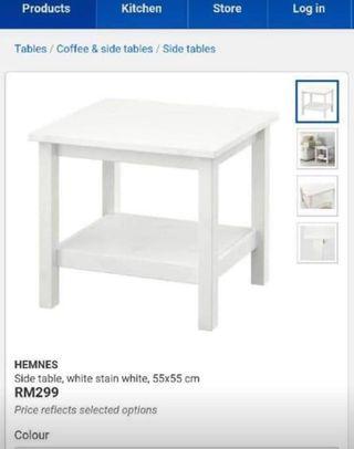 Ikea hemnes Side/Coffee Table