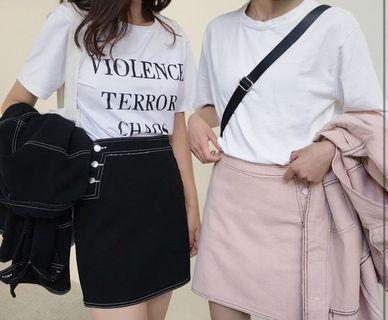 🚚 黑色牛仔裙🖤
