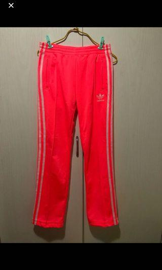 Adidas size s shocking pink pants 細碼螢光粉紅色女裝運動褲 #MTRkt