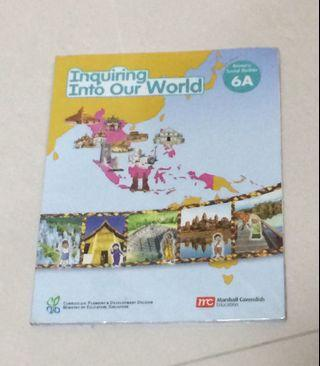Inquiring into our world 6A social studies textbook(primary)