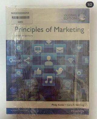 全新Principle of Marketing textbook