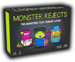 Monster Reject Card Game