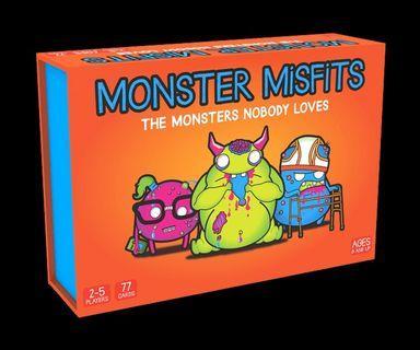Monster Misfit Card Game
