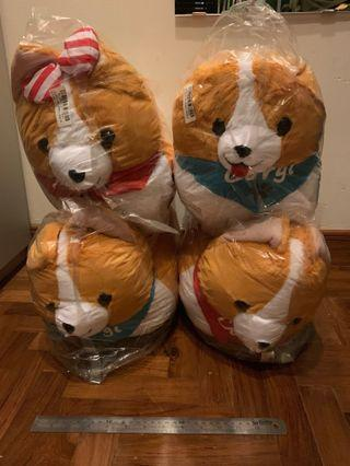 🚚 [Toreba] Ichini the Corgi - Dressed-up 48cm