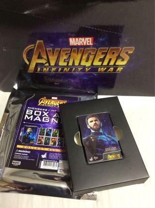 Hottoys Box Art Magnet Infinity War Captain America