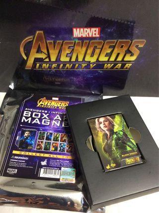 Hottoys Box Art Magnet Infinity War Black Widow