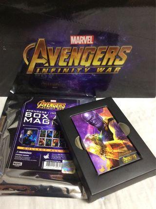 Hottoys Box Art Magnet Infinity War Thanos