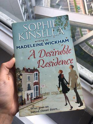 A Desirable Residence by Sophie Kinsella #junetogo