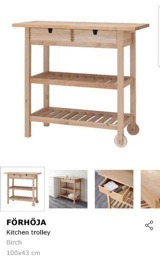 🚚 IKEA kitchen trolley, cart, rack  or table  9/10