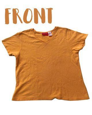 Liz & Co Orange Shirt